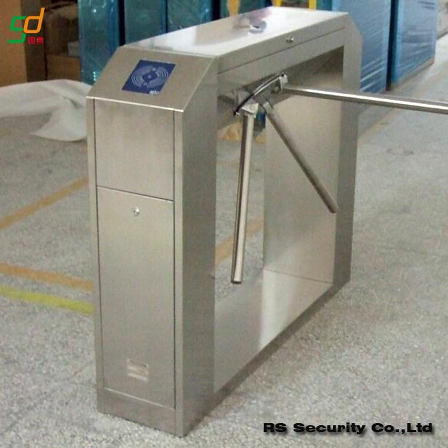 Automatic barrier gate turnstile security systems for park