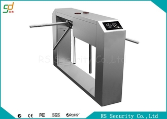 China Access Control Device  Waist Height Turnstiles  High Security Pedestrian Entry System supplier