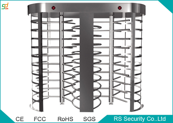 China Prison Automatic Full Height Turnstiles Barrier With 90 Degree Rotation supplier
