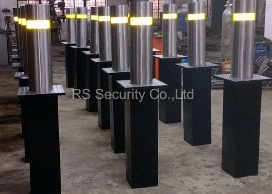 China Parking Barriers Hydraulic Bollards , Electric Rising Bollards Automatic Powered supplier