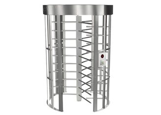 China Biometric Access Control Systems Revolving Door Turnstile With Single Channel supplier