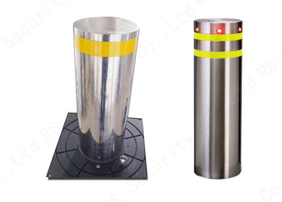 Access Control System Hydraulic Stainless Steel Bollards