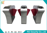 China Subway Gate Security Automatic Turnstiles Indoor Flap Barrier Speed Gate factory