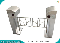 China Automatic Supermarket Swing Gate Intelligent Vertical Swing Turnstiles System factory