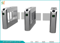 Supermaket Swing Barrier Gate Access Control Stainless Steel Turnstiles