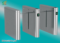 China Single Or Dual Core Drop Arm Barrier Card Reader Turnstile Gate System factory