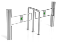 China Bi-Directional Access Control Supermarket Swing Gate Optical Turnstile With Card Reader factory