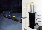China Car Park Entry Parking Lot Hydraulic Bollards Automatic Parking Posts factory
