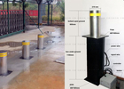 China Automatic Fold Down Hydraulic Bollards Electric Retractable Security Bollards factory