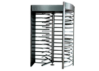 China IP44 Security Revolving Doors , Full Height Turnstile Gates 304 Or 316 Stainless Steel factory