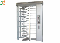China High Security Rotor Full Height Turnstile Gate Card Reader Entrance Barrier factory
