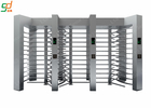 China Fingerprint Stainless Steel Turnstile Full Height Systems IC / ID / Barcode Control factory