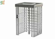 China Heavy Duty Security Pedestrian Full Height Turnstiles Gate With Card Reader factory