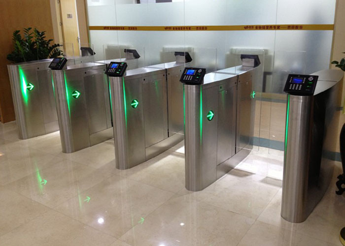 Security sliding speed gates turnstile accurate logical