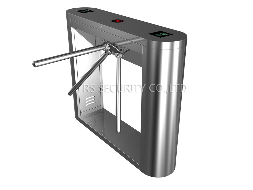 Stainless steel tripod turnstile gate security drop arm