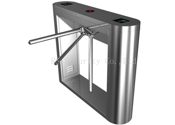 Automatic Card Reader ~ Biometric attendance waist high automatic turnstile entry