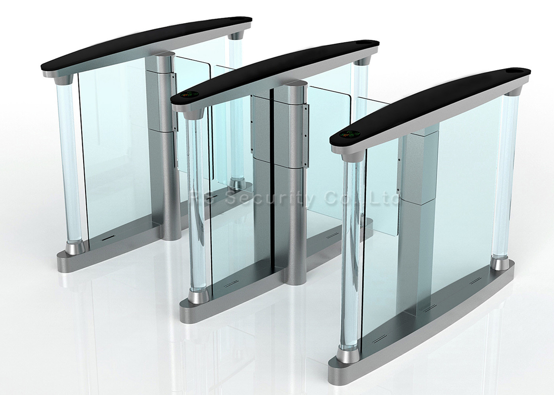 Intelligent Swing Gate Turnstile Security Systems, Controlled Access Turnstiles Speedgate