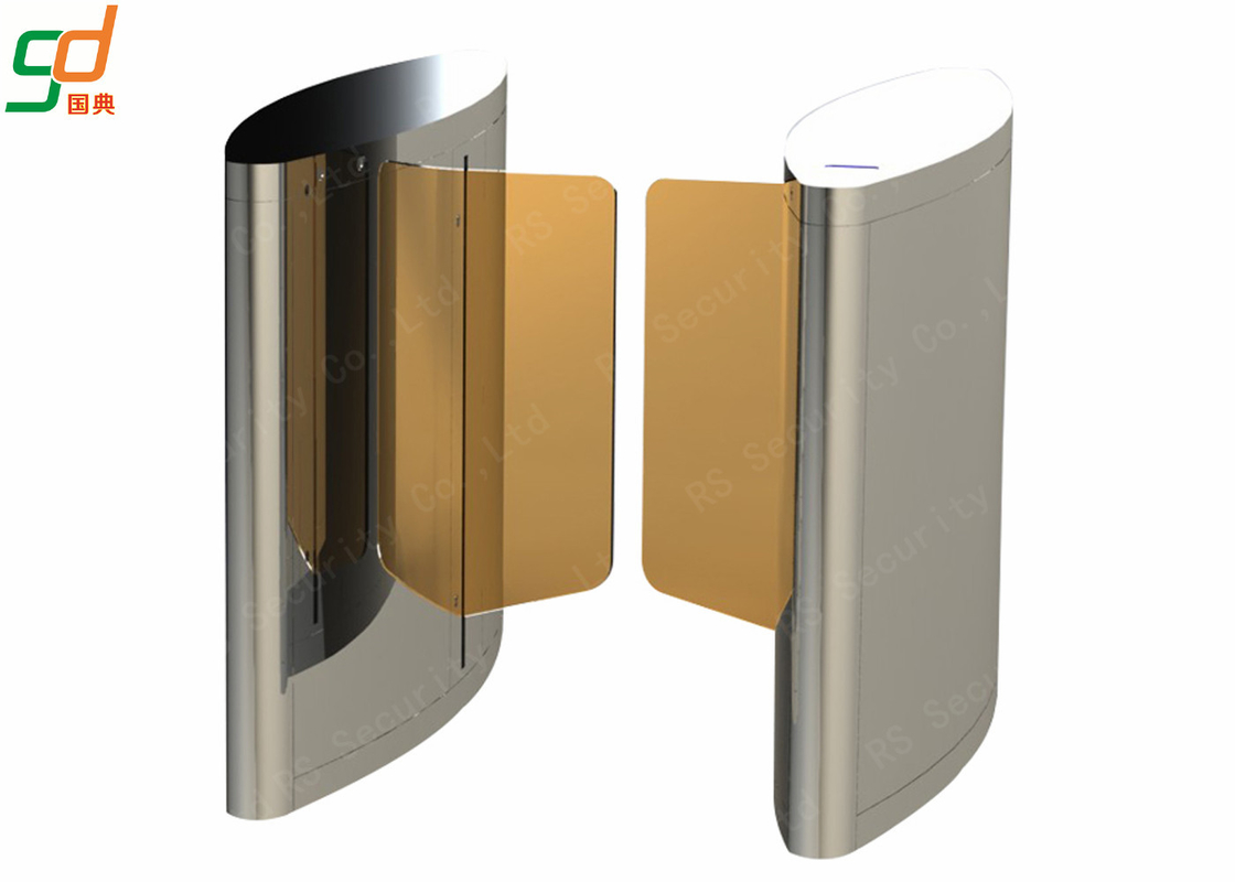 Swing Barrier Turn Style Door Automatic Turnstile Gate Infrared For Control System