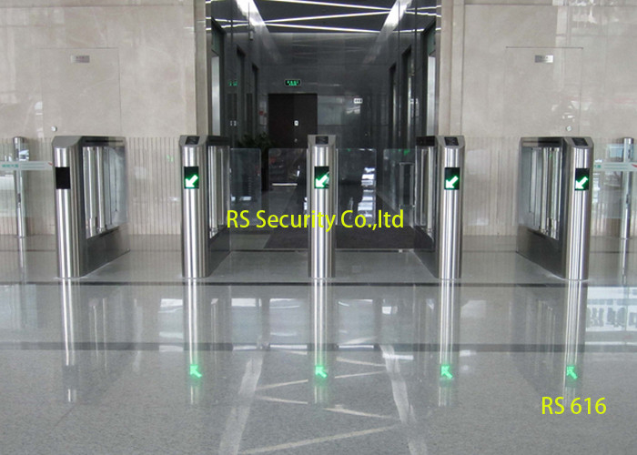 Ce approved swing barrier gate single or dual entrance
