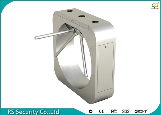 304 Stainless Steel Automatic  Turnstile Compatic With IC ID Cards