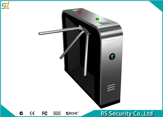 304 Stainless Steel Tripod Turnstile Gate Systems, Security Turnstyle Gates