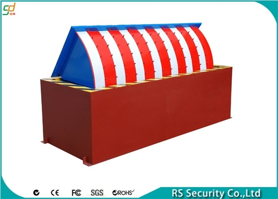 Steel Embedded Vehicle Road Blocker For Access Control Security