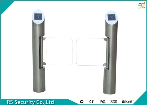 Fully Automatic Safety Supermarket Swing Gate  Barrier Passages Turnstiles
