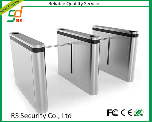 Standing Up Safety Drop Arm Turnstile Security Gates Stadium Gym Access Control
